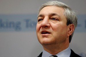 Former Penn State president Graham Spanier became the third school official to be charged with crimes in the alleged cover-up in the Jerry Sandusky child sex abuse case.