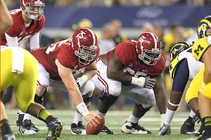 Barrett Jones and Chance Warmack