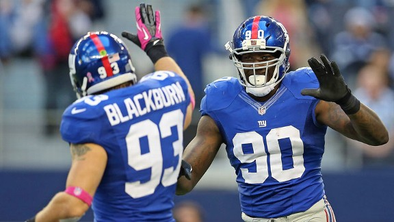Chase Blackburn, Jason Pierre-Paul