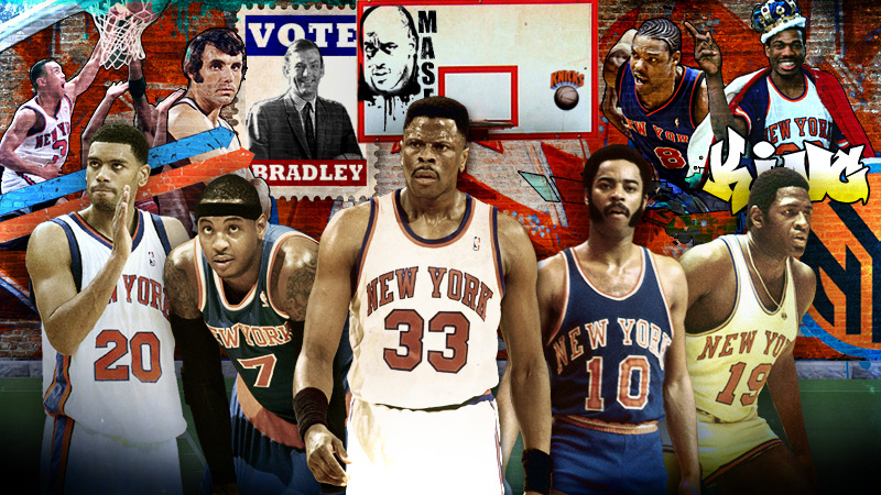 New york knicks legends
