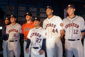 Houston Astros uniforms