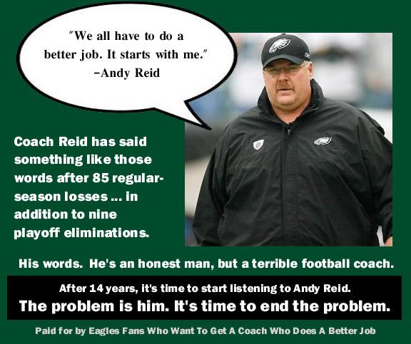 Andy Reid mailer