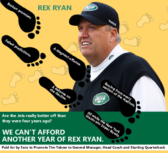 Rex Ryan mailer