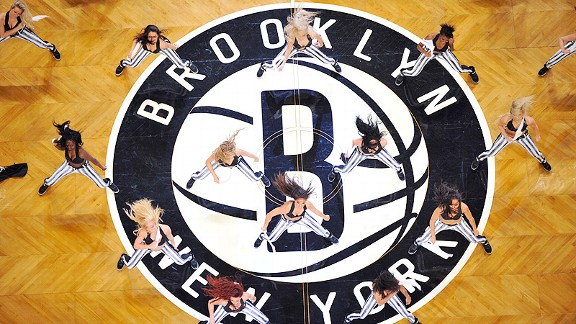 Brooklynettes during the Brooklyn Nets' debut at the Barclays Center