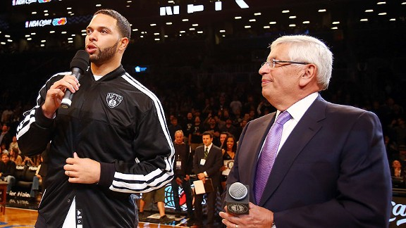 Deron Williams and David Stern