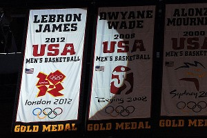 LeBron James banner