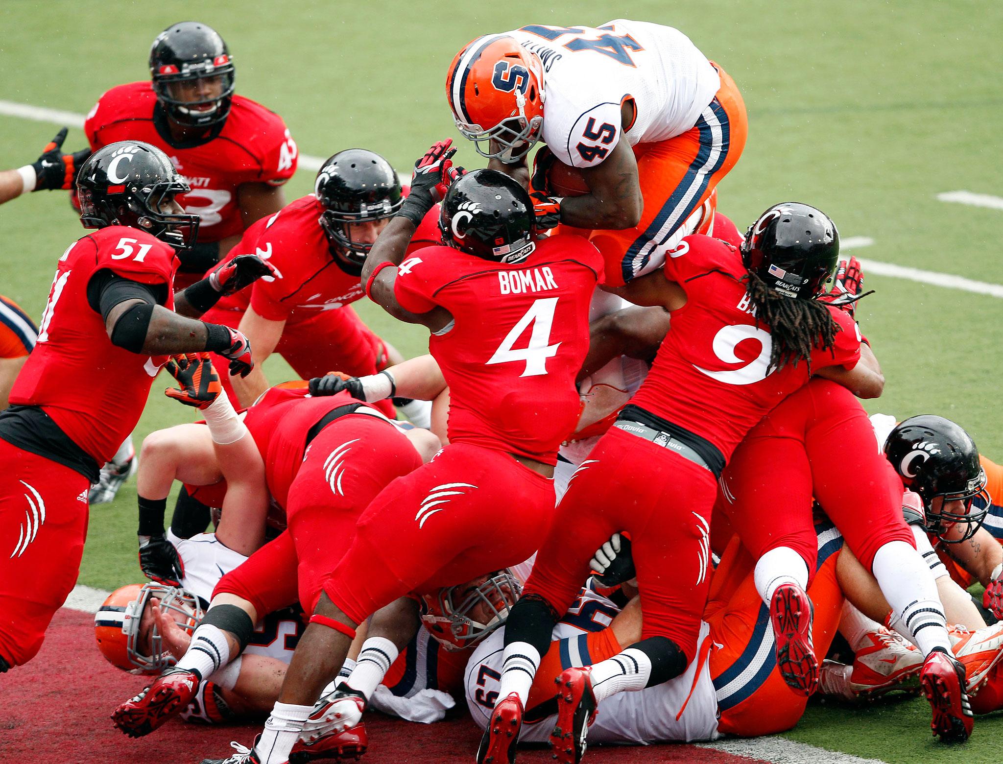 ncaa football week 9 college football scores espn go