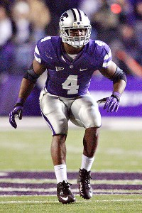 Kansas State Wildcats linebacker Arthur Brown