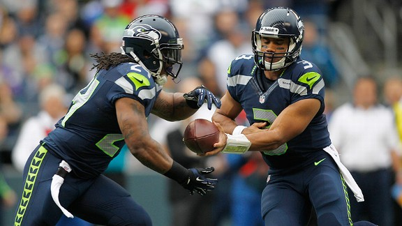 Russell Wilson, Marshawn Lynch