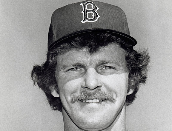 Bill Campbell with the Boston Red Sox