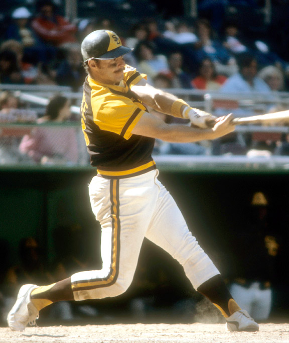 Gene Tenace with the San Diego Padres