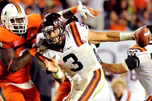 Virginia Tech's Logan Thomas
