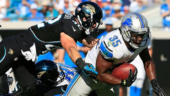 Joique Bell has averaged 5.2 yards per carry after halftime, giving the Lions a potent late weapon.