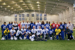 Indianapolis Colts shaved their heads
