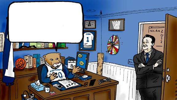 Uk Basketball Clip Art: Related Keywords & Suggestions For Kentucky Wildcat Cartoon