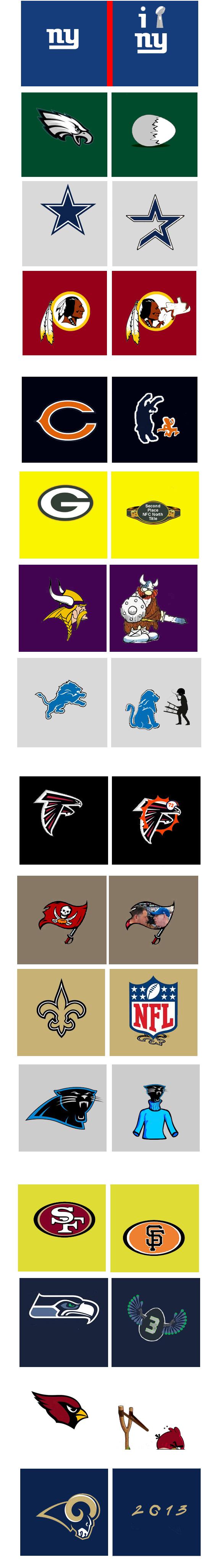 Kurt Snibbe NFC logo makeover