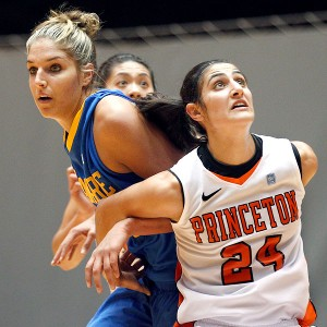 Niveen Rasheed and Delle Donne