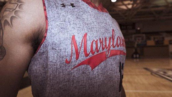 Maryland's flannel Brooklyn jersey
