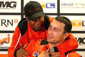 Emanuel Steward and Wladimir Klitschko