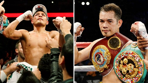 Abner Mares and Nonito Donaire