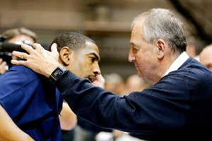Jim Calhoun and Kevin Ollie