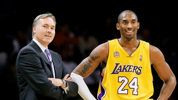 D'Antoni y Kobe Bryant, dos hombres y un destino.
