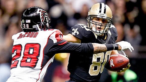 Saints bring Falcons back to earth