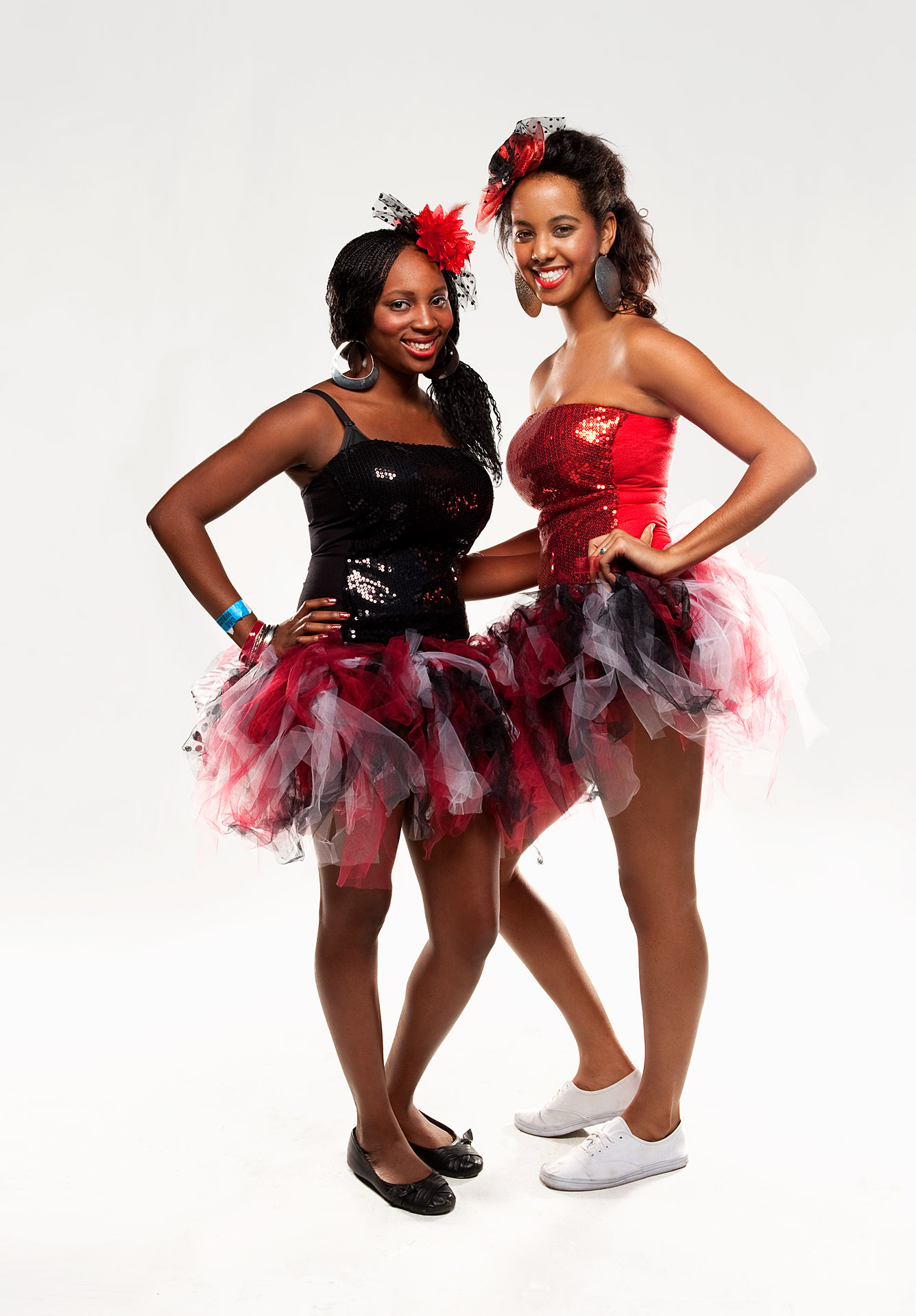 Gabby Gaskin-Cole (left) and Leah Taylor Dothan