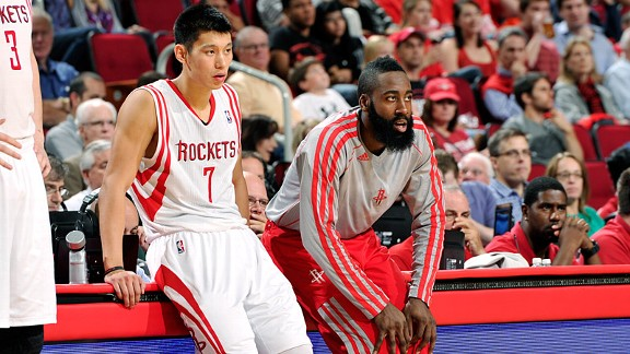 James Harden/Jeremy Lin