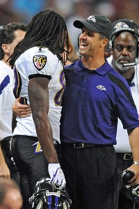Torrey Smith, John Harbaugh