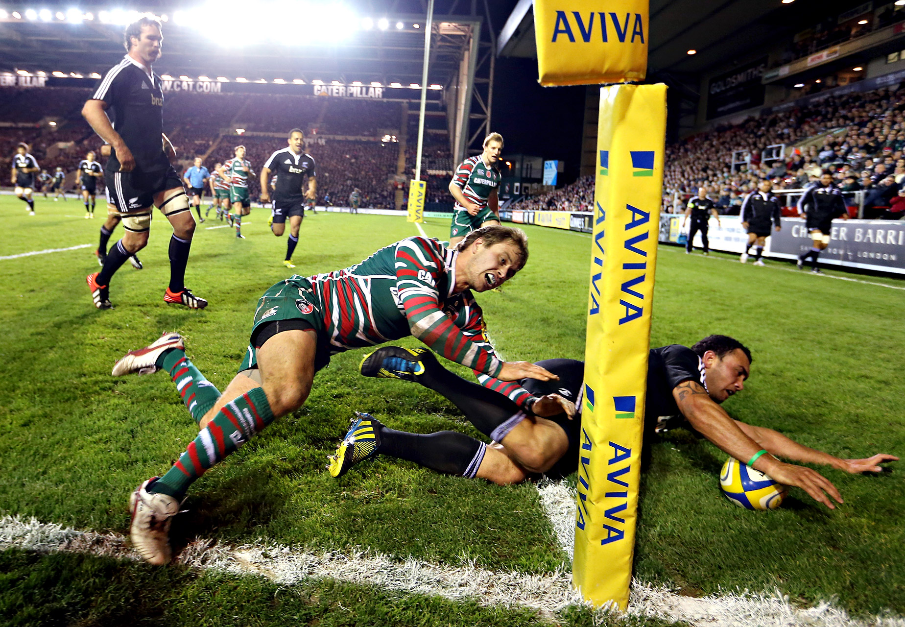 Leicester Tigers and Maori All Blacks