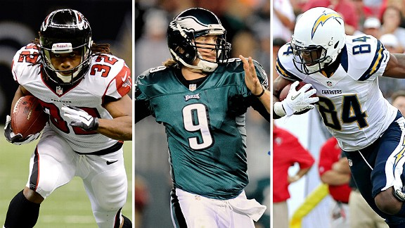 Rodgers, Foles, Alexander