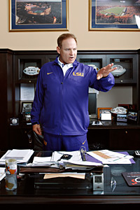 Lsu Coach Les Miles And His Obsession Over Beating Alabama
