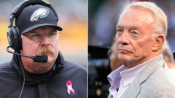 Andy Reid and Jerry Jones
