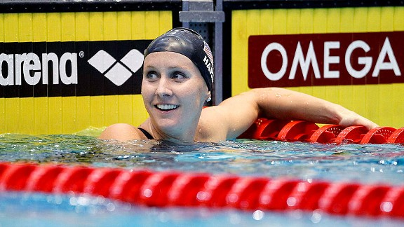 Jessica Hardy has had a smile on her face since her Olympic dreams came true in London.