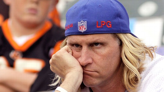 New York Giants fan during a loss to the Cincinnati Bengals