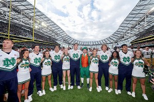 Notre Dame team