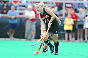 Megan Frazer will attempt to help Maryland win a third straight title despite losing five games this season.