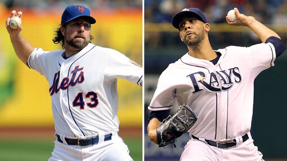 R.A. Dickey, David Price