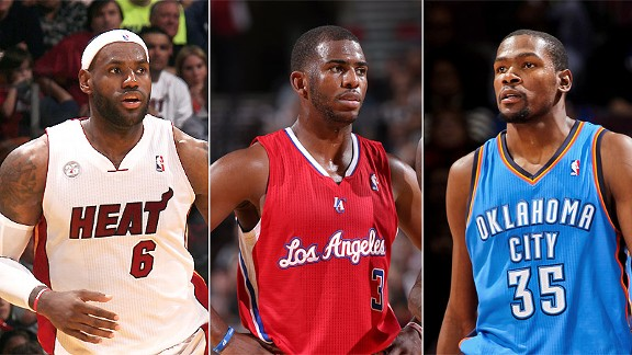 Lebron James/Chris Paul/Kevin Durant