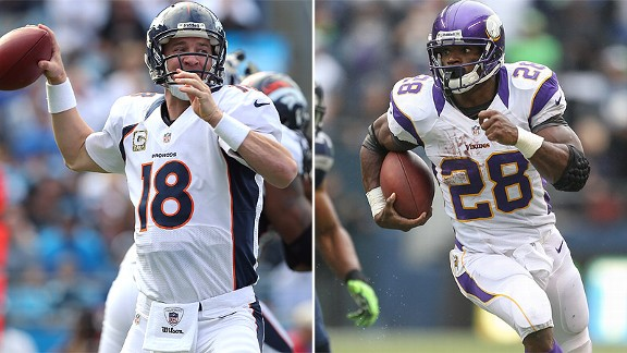 Peyton Manning/Adrian Peterson