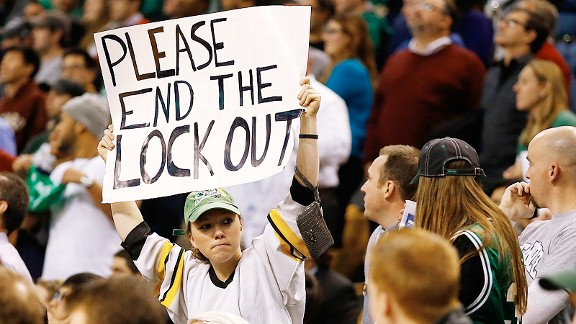 NHL lockout poster
