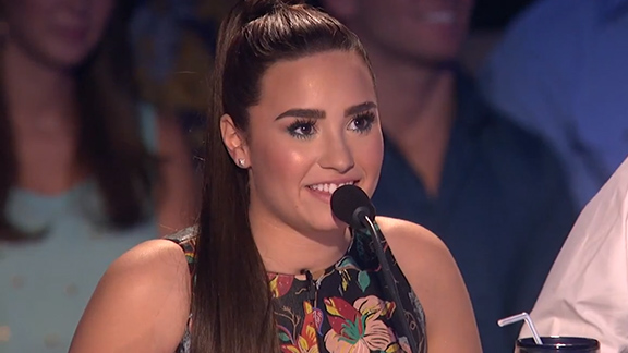 Judging The X Factor: Tate Is King, Demi Is All Eyebrow ...