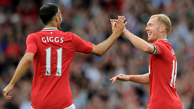 Paul Scholes and Ryan Giggs