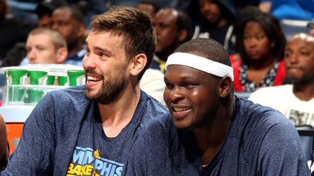 Marc Gasol, Zach Randolph