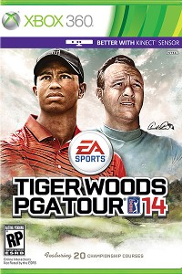 Arnold Palmer and Tiger Woods 14 Cover