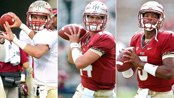 Clint Trickett, Jacob Coker, Jameis Winston