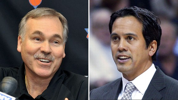 Mike D'Antoni & Erik Spoelstra