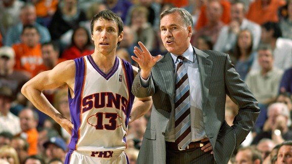 Steve Nash, Mike D'Antoni