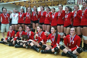 Melrose volleyball